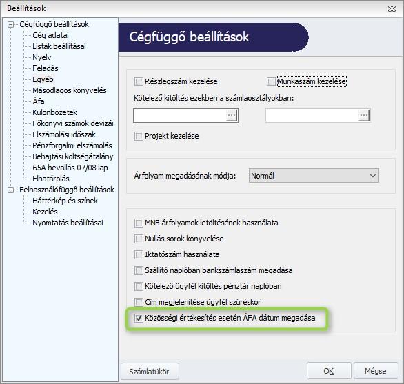 opciók könyvelése a könyvelésben)