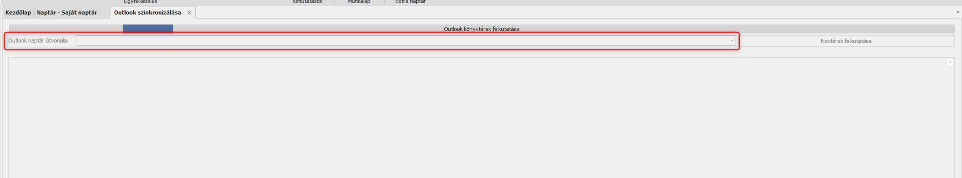 Outlook naptárak felgyűjtése